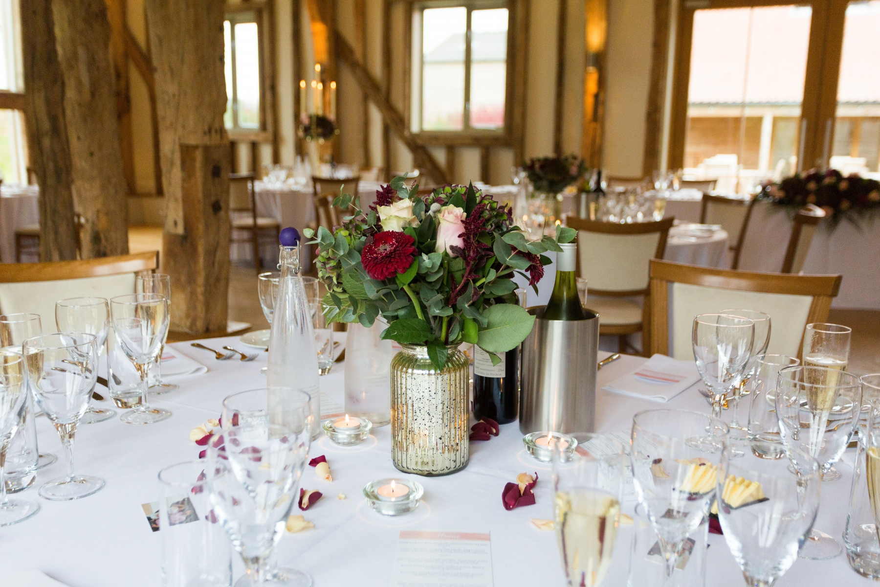 Suzi and Terry October 2017 - Low table arrangement