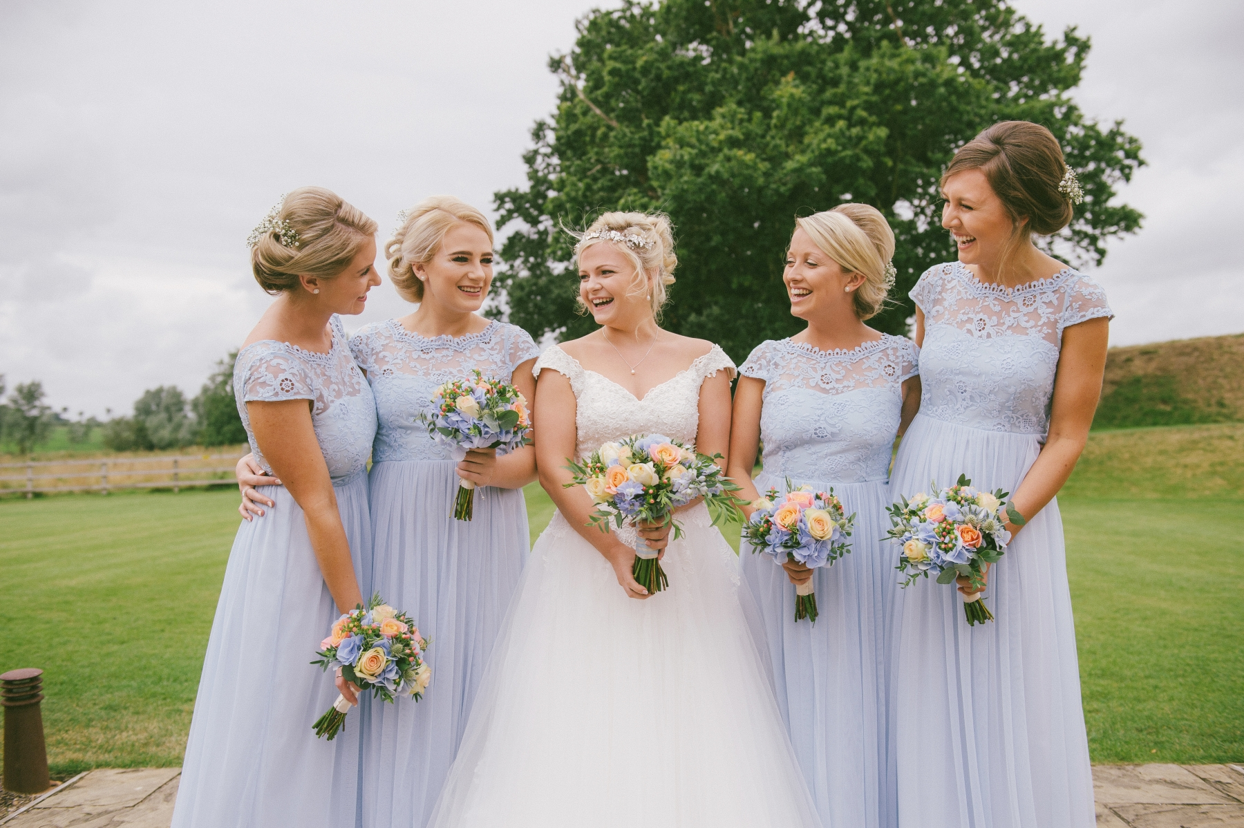 Claire and Stephen September 2016 - Bride and Bridesmaids
