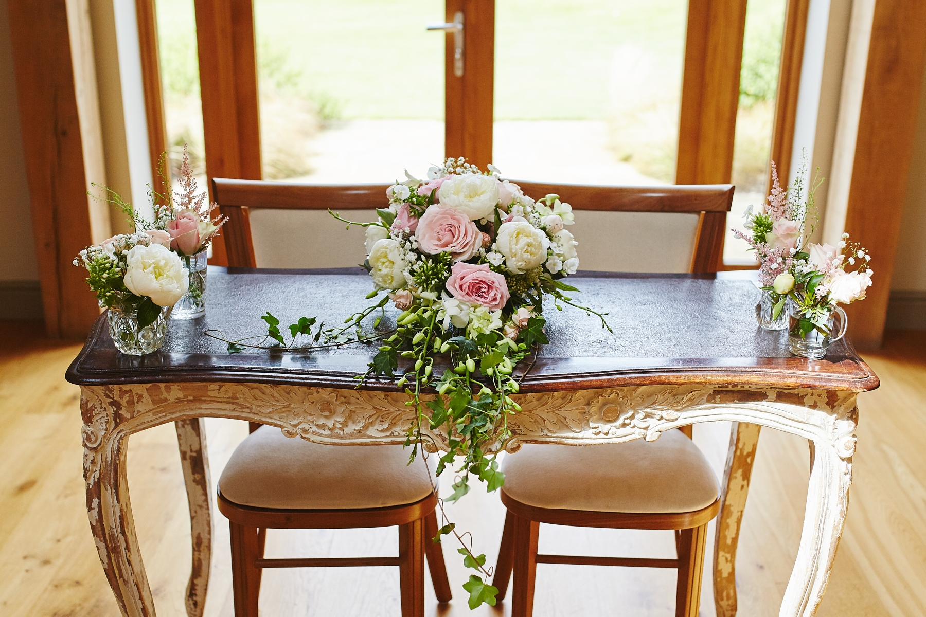 Elaine and Joe, July 2017 - Ceremony Table