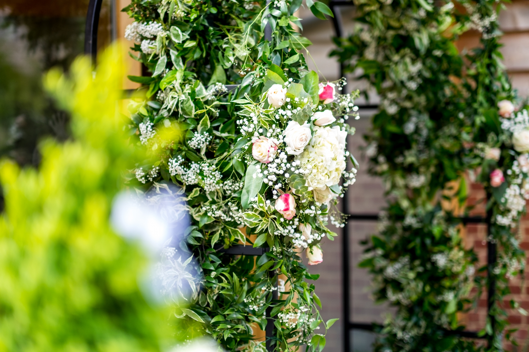 Jodie and James 2017 - Flower Arch