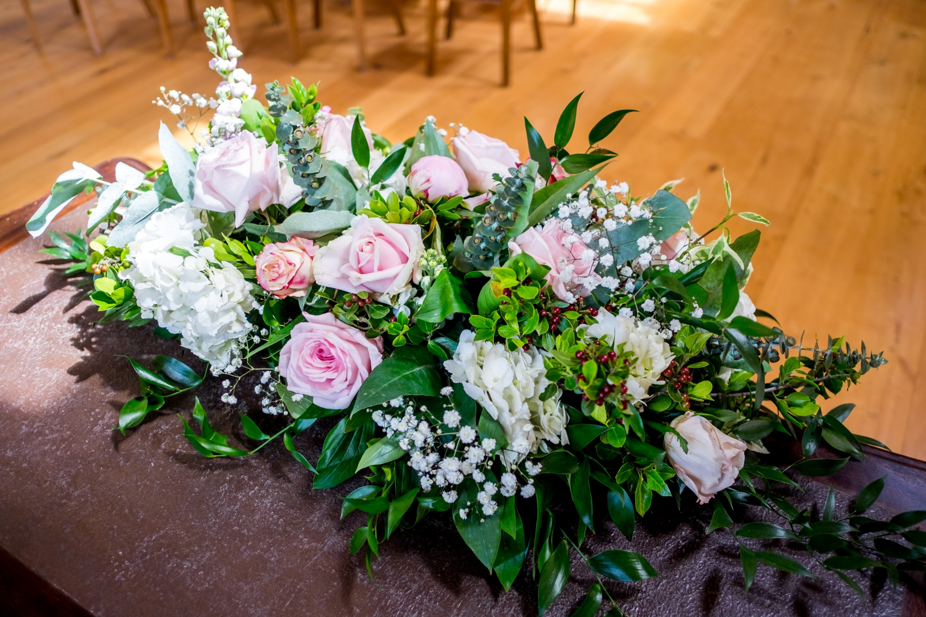 Jodie and James 2017 - Ceremony Table Arrangements