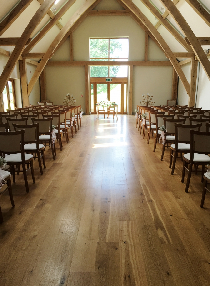 Helen and Hayley 2016 - Ceremony Room