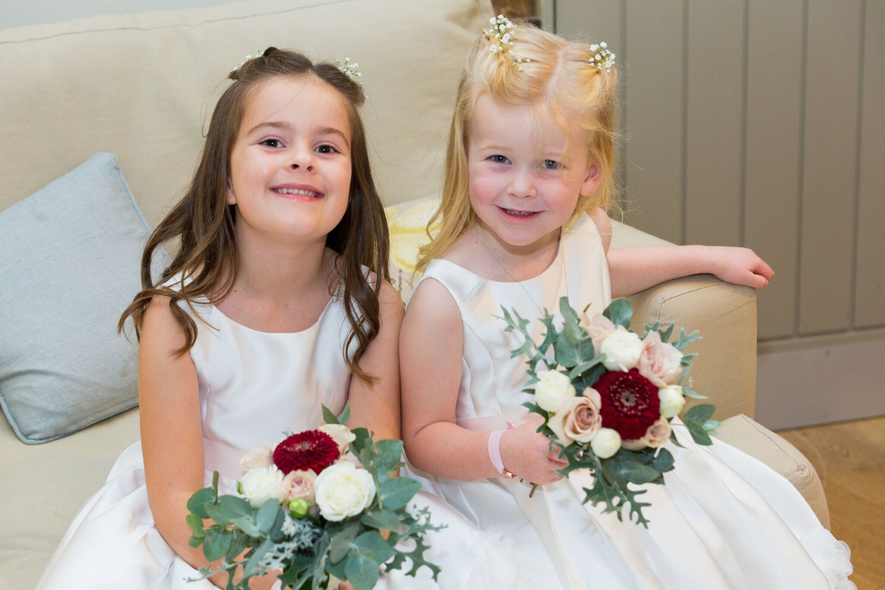 Suzi and Terry October 2017 - Flower Girls
