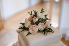 Martyn and Luke 18th September 2018 - Wedding Cake Flowers