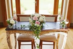 Elaine and Joe, July 2017 - Ceremony Table
