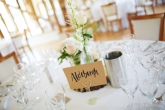 Elaine and Joe July 2017 - Table Centres