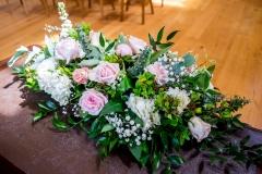 Jodie and James 2017 - Ceremony Table Arrangements