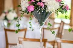 Jodie and James 2017 - Cocktail Vase Table Centre